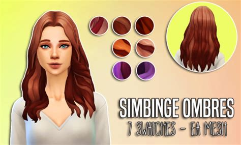 haircuts for foreheads simbinge ea middle part ombre recolorsthese were really 5689