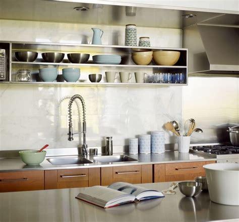 loft kitchen ideas 10 sparkling kitchens with open shelving