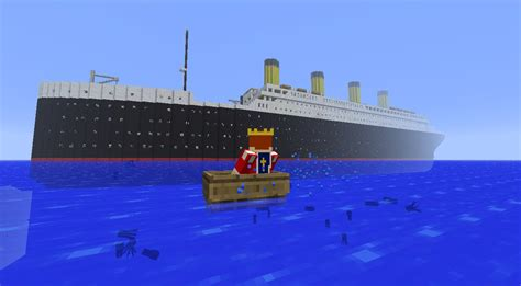 titanic departure travel and sinking minecraft blog