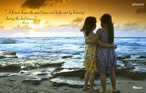 girls friendship natural wallpaper  friendship quote