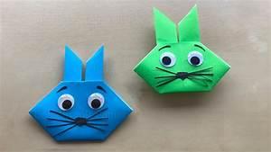 Basteln Zu Ostern : ostern basteln diy origami osterhasen aus papier ~ Watch28wear.com Haus und Dekorationen