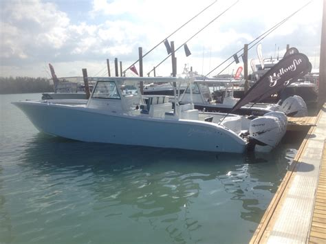 Top Sport Fishing Boat Brands by Miami Boat Show New Boats Photos New Sport Fishing