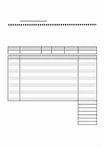 Bill Of Service Template Blank Service Invoice Template Free Download