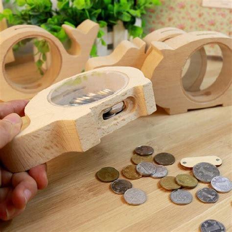 wood piggy bank ideas images  pinterest piggy