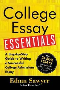 College Essay Essentials A Step By Step Guide To Writing