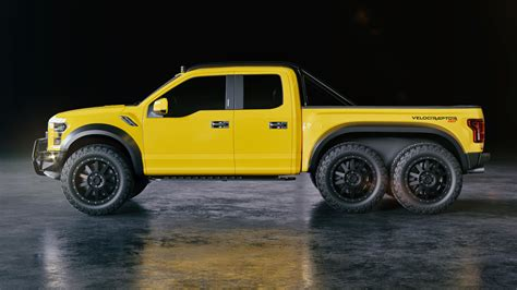 Raptor Truck Cost by Velociraptor 6x6 Hennessey Performance