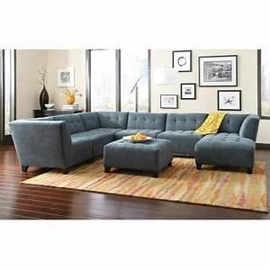 nebraska furniture mart moda belaire 6 piece modular With sectional sofas nebraska furniture mart