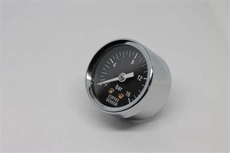 Rancilio silvia portafilter pressure gauge tester coffee machine espresso maker. Coffee Sensor Black E61 group pressure gauge M6 thread