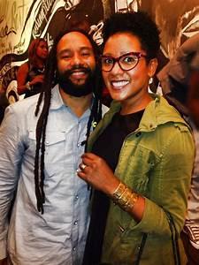 Ky-Mani Marley and sister Karen Marley | MARLEY HOUSE ...