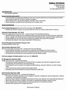 administrative assistant resume resume samples resume With samples of resumes for administrative assistant positions