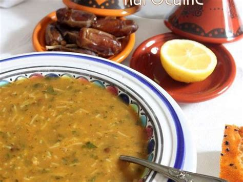cuisine marocaine ramadan recettes de harira et maroc 2