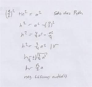 Dreieck Seiten Berechnen : gleichseitiges dreieck gleichseitiges dreieck h berechnen mathelounge ~ Themetempest.com Abrechnung