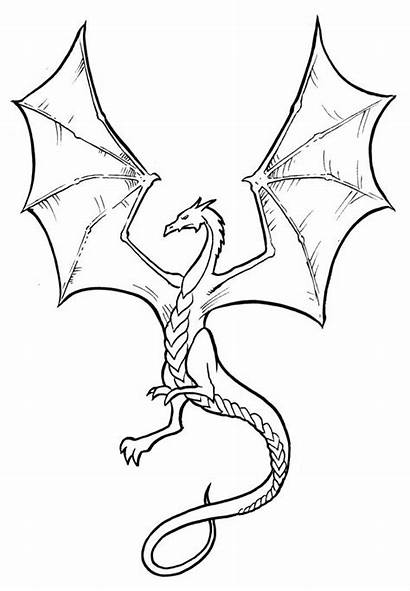 Dragon Drawings Easy Drawing Simple