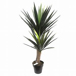 ARTIFICIAL YUCCA TREE 1 2M WITH 65 LEAVES