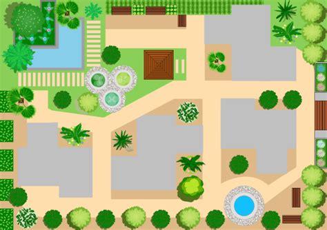 garden template landscape design free landscape design templates