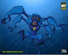 Spidermonkey Ben 10 Alien Force