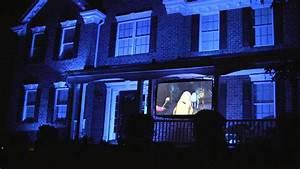 Monsters  Inc  Halloween Light Show