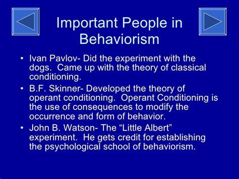 John watson theory summary