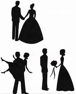 Wedding Couple Silhouette Wedding couple silhouette ...