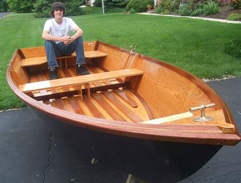 sissy  flat bottom rowboat wwwboatdesignscom boat plans  outboard power pinterest