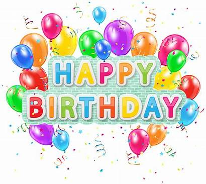 Birthday Happy Clipart Balloons Deco Clip Yopriceville