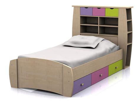 gfw sydney childrens pink ft single storage bed frame