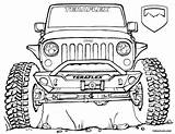 Jeep Coloring Pages Wrangler Lifted Truck Teraflex Trucks Drawing Rock Sheet Cool Army Bronco Ford Unlimited Printable Sketch Jk Jeeps sketch template
