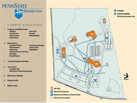 cus map penn state brandywine