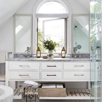 modern white bathroom cabinets contemporary bathroom