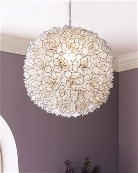 capiz shell pendant light contemporary chandeliers