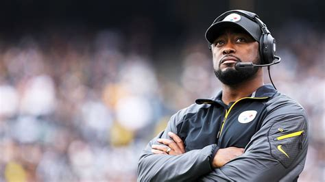 pittsburgh steelers coach mike tomlin responds  terry