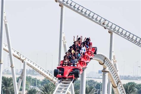 Formula rossa, the world's fastest roller coaster, is also located here. Enjoy a Romantic Honeymoon in Abu Dhabi - Abu Dhabi Blog