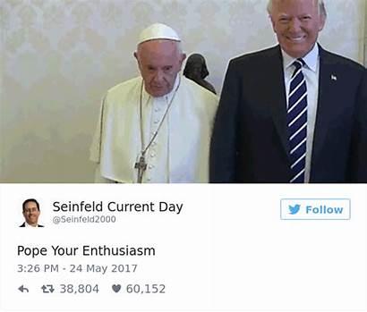 Donald Trump Pope Francis Memes Funny Meeting