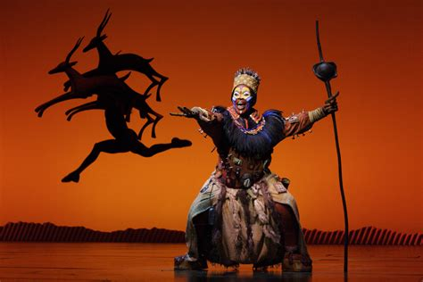 orange and brown curtains theatre review disney 39 s the king musical