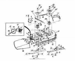 Mtd 135o675g062  1995  Parts Diagram For Deck Assembly