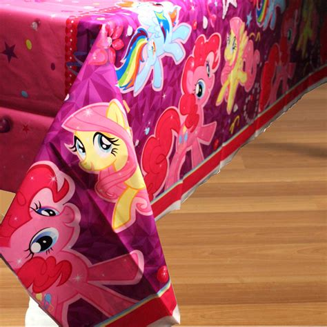 my little pony table my little pony plastic table cover rectangle