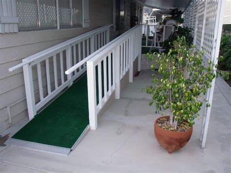 mobile home custom ramps