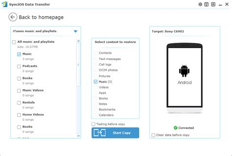 transfer itunes to android how to sync itunes to android phone tablet