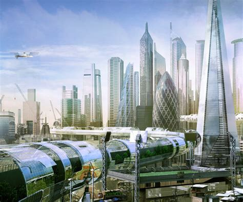 Future City Designs Future London Futuristic City