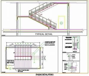 Staircase and Railing Design Plan n Design