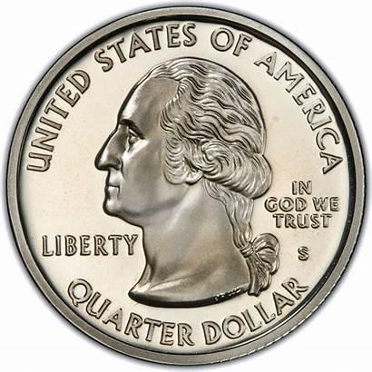 Quarter Usa Dollar States United 2002 Coin