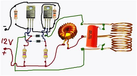 Induction Heater Circuit Diagram Wiring