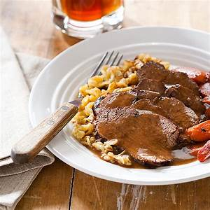 German Pot Roast Sauerbraten Cook39s Country