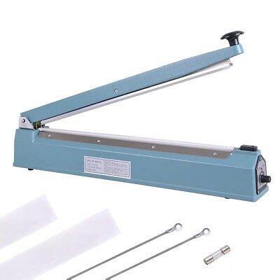 hand sealer impulse heat manual seal machine plastic poly bag closer kit ebay