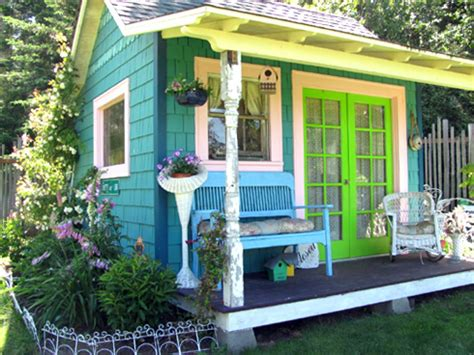 how to build backyard putting green she shed decorating ideas hgtv 39 s decorating design