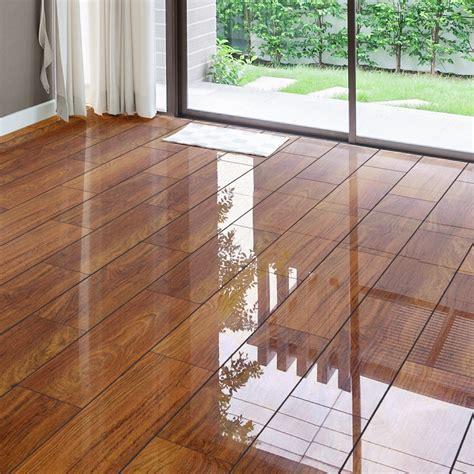 Wickes High Gloss White Laminate Flooring