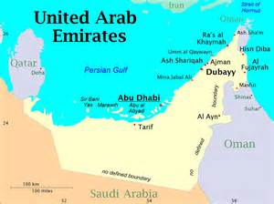 Map Archaeological Sites in UAE
