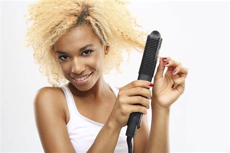 How To Straighten Curly Hair 6 Steps