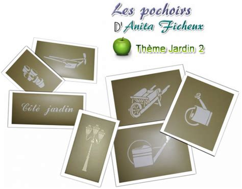cuisine noel thème jardin 1 2 pochoirs ficheux