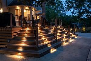 deck lighting ideas to get romantic warm and cozy With best outdoor lighting for a patio